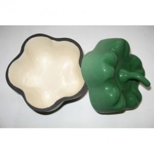 Горщик чавунний ALPARI ПЕРЧИК 0,5 л (зелений)