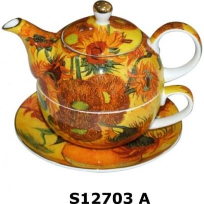 Чайний набір S12703 A Sunflower