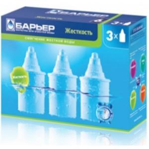Набір картриджів для  очищувача води Бар'єр Б-6 (жорстка вода) 3 шт.