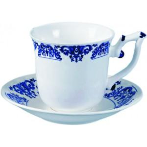 Чашка з блюдцем керамічна ALPARI HF0925
