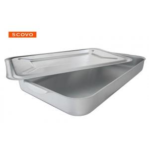 Деко алюмінієве з кришкою Сково МШ-015   54*34 см