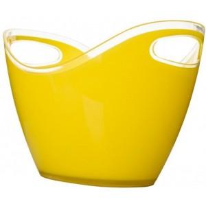 Відро чаша для шампанського EMPIRE ЕМ1694 3300мл. жовта